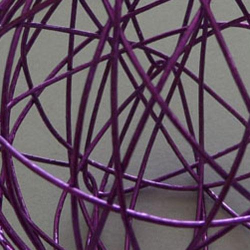 12 deko drahtkugel dekokugel drahtball lila 40mm ebay - Drahtkugel deko ...