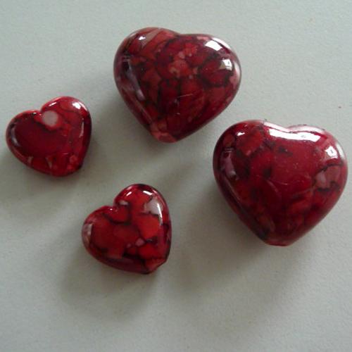 Dekolust 70 x streudeko herz tischdeko hochzeit taufe rot for Herz tischdeko