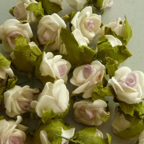 50x rosenbl ten rose hochzeit streudeko haarschmuck tischdeko ebay. Black Bedroom Furniture Sets. Home Design Ideas