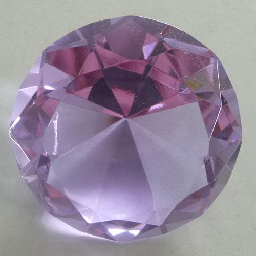 deko diamant tischdeko streudeko hochzeit taufe deko lila 8 cm. Black Bedroom Furniture Sets. Home Design Ideas