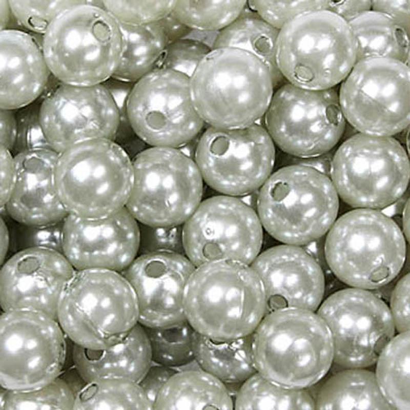 50 x Dekopin Perlennadeln Rosennadeln Stecknadeln Hochzeit Perle lila 10mm