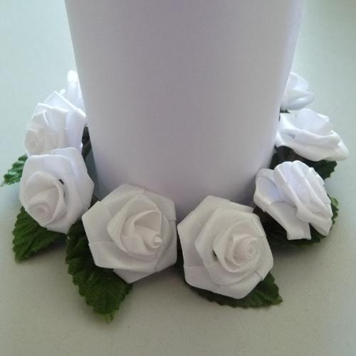 Kranz Binden Hochzeit Material : kerzenring kranz diorrosen rose hochzeit taufe tischdeko wei 8cm 4250858860288 ebay ~ Yasmunasinghe.com Haus und Dekorationen