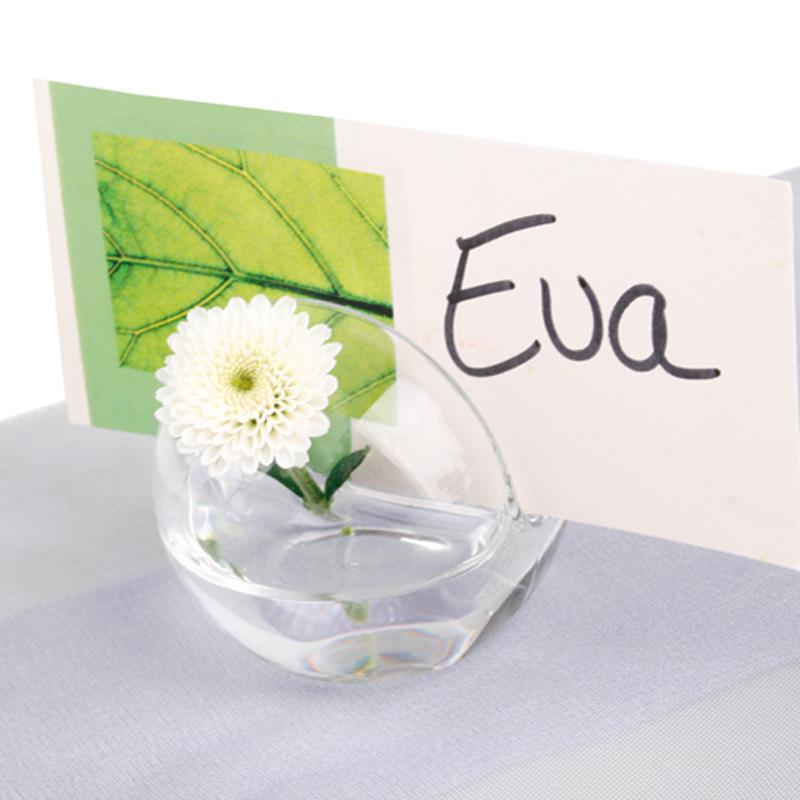 Details About Card Holder Spherical Vase Place Cards Wedding Ball Menu Cardholder 1 1316in