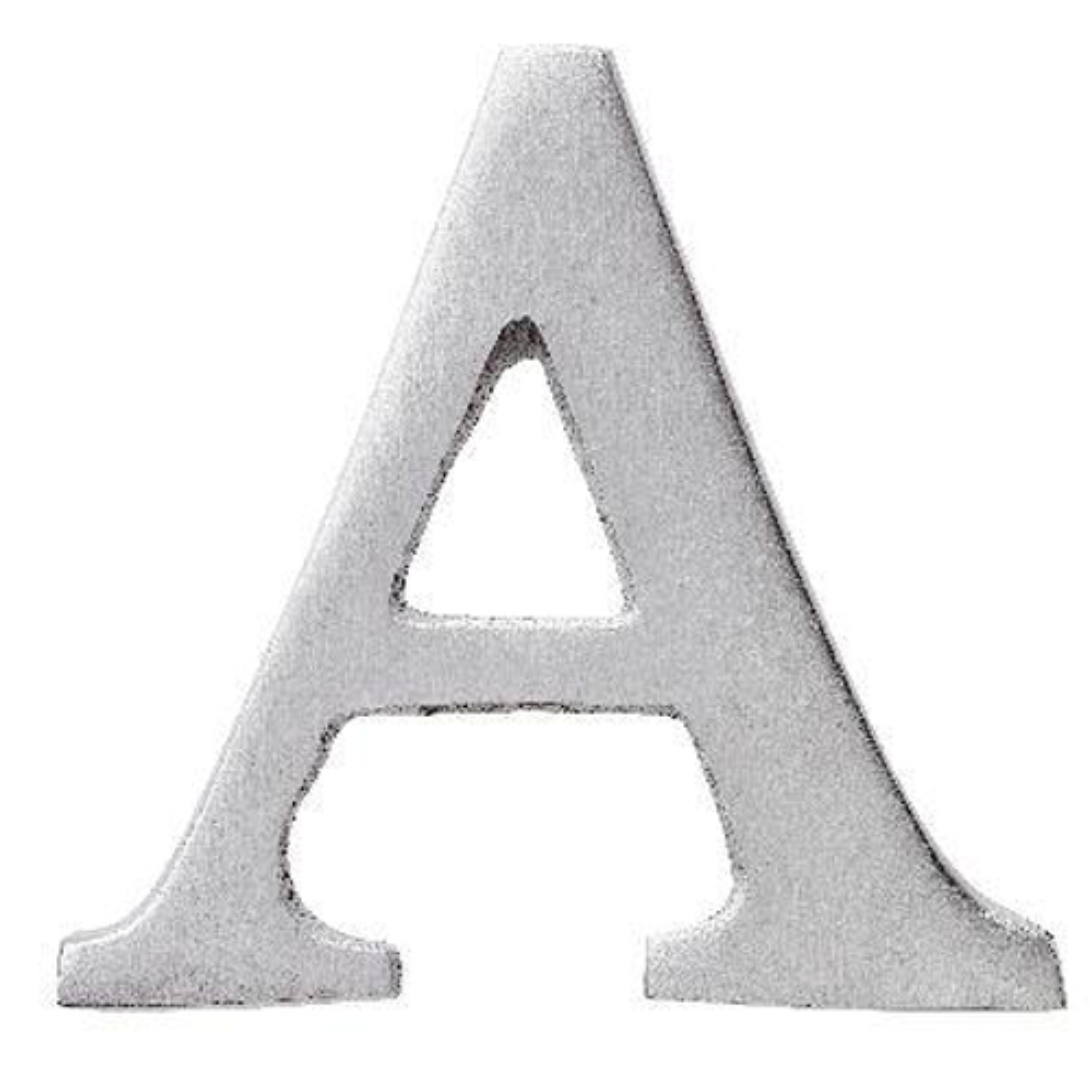 H R/äder ABC Alu Lettern